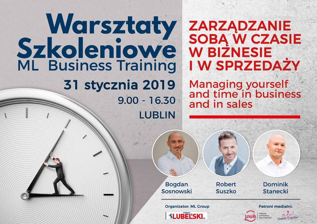 Warsztaty Szkoleniowe ML Business Training 31.01.2019